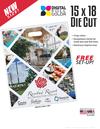 15x18 Digital Full-Color Die Cut