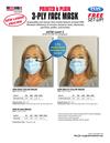 USA Made 3-Ply Face Masks