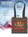 Sublimated PET Non-Woven Totes